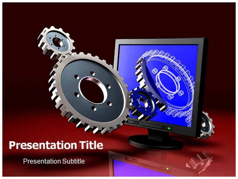 Engineering Powerpoint Templates Free Download Digital Engineering Powerpoint Templates And Powerpoint Template Free Mechanical Design Templates Free Download