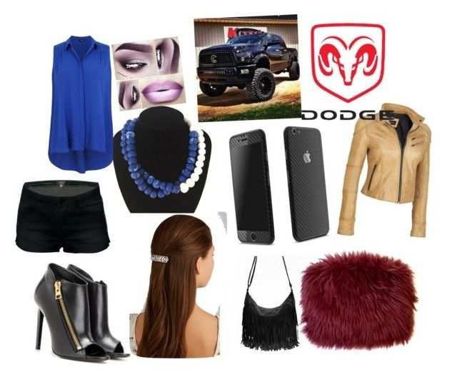 """""""going mud bogging"""" by louistomlinson177 ❤ liked on Polyvore featuring Tom Ford, Jennifer Behr and plus size clothing"""