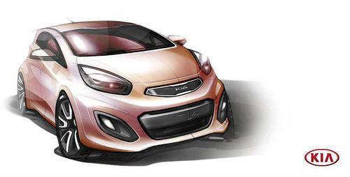 Kia Picanto Design Kia Picanto Car Sketch Car