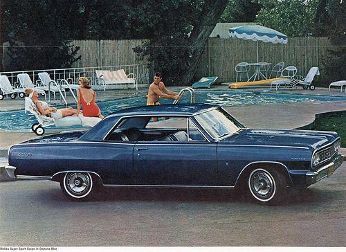 1964 Chevrolet Chevelle Malibu Super Sport Coupe Chevrolet Chevelle Malibu Chevrolet Chevelle Chevelle
