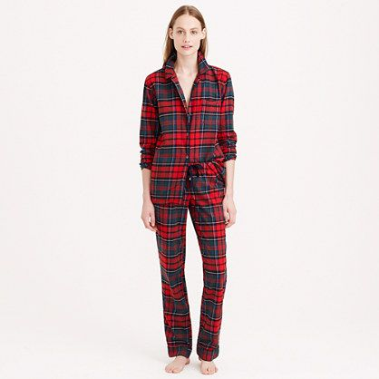 Flannel plaid pajama set #jcrew | Christmas Gifts | Pinterest ...