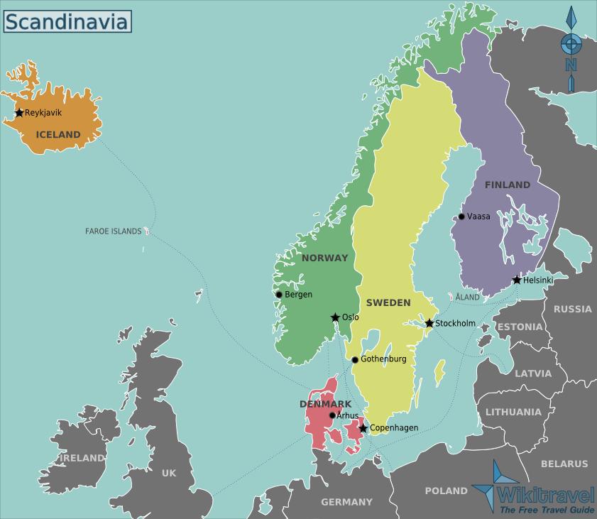Scandinavia Travel Guide Wikitravel Escandinavia Guia De Viagem Lugares