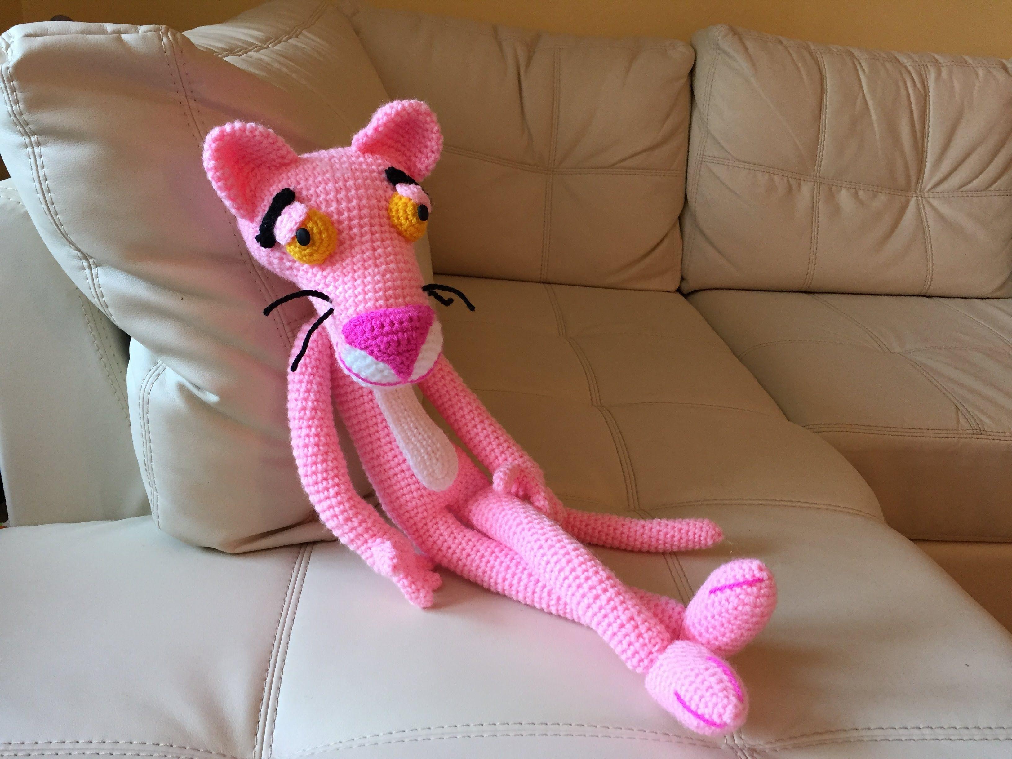 Amigurumi Tutorial Animali : Pantera rosa amigurumi tutorial schema how to crochet pink