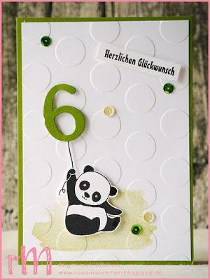 Pandas und Punkte zum Kindergeburtstag