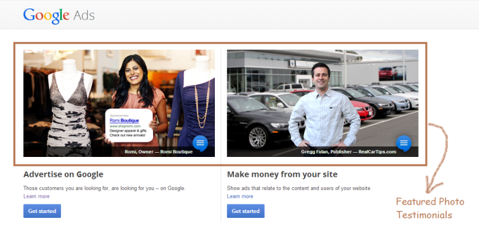 Example 6 – Google Adwords - Home Page