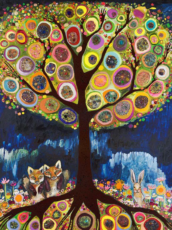Wildflower Bed Canvas Print