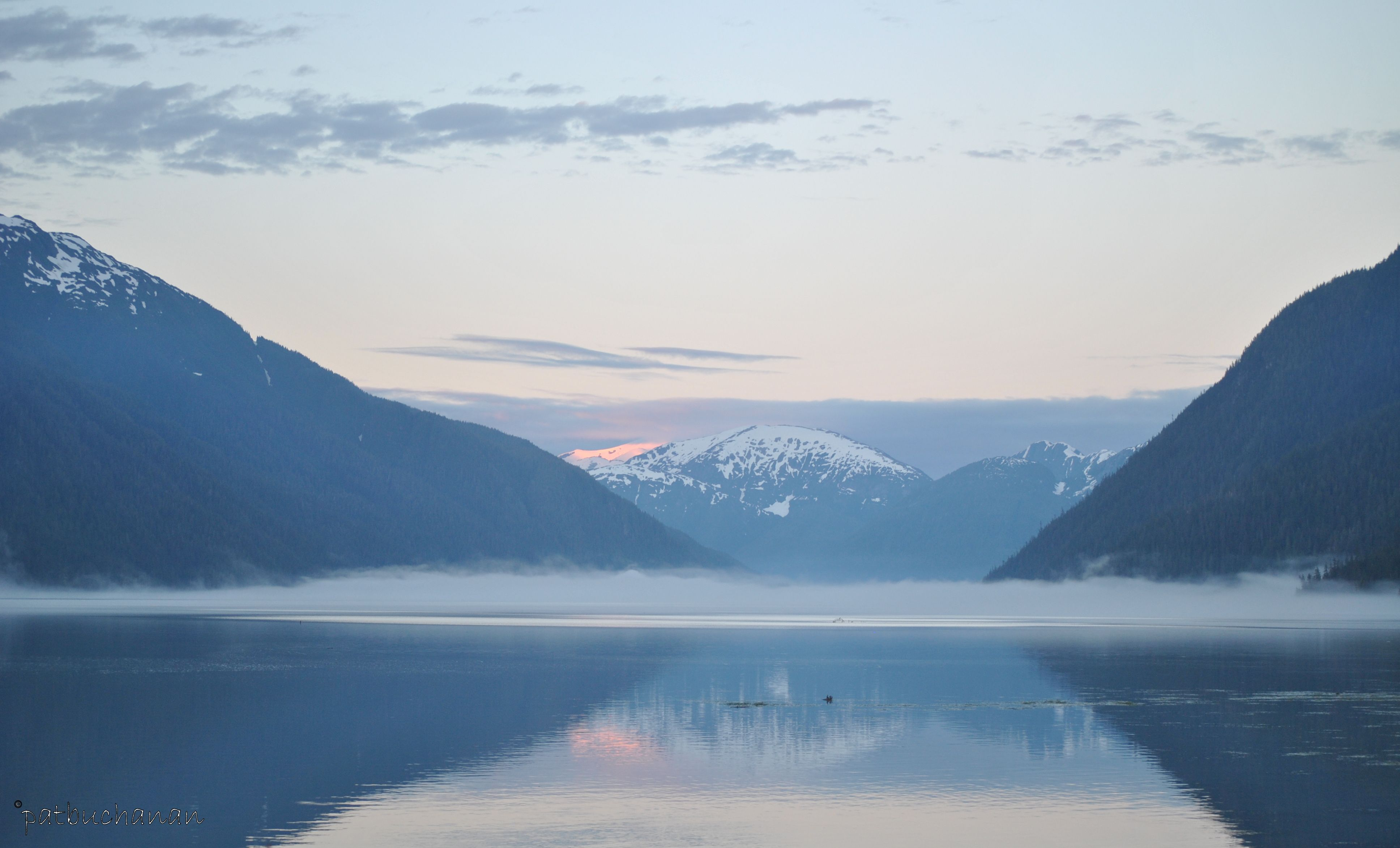The Portland Canal a natural fjord at
