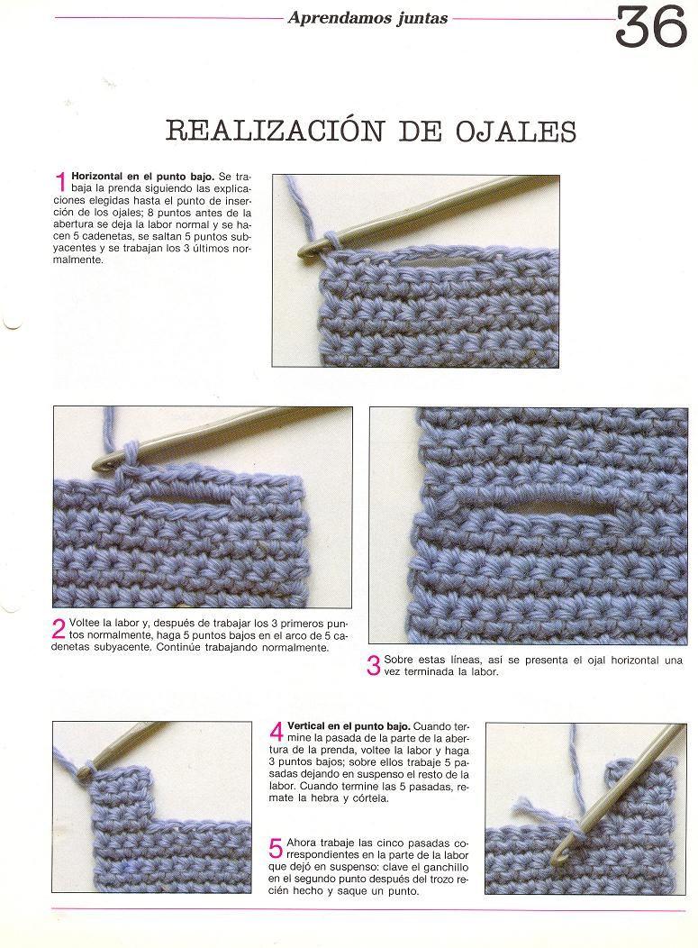 patrones asgaya: técnicas crochet | punto, tricô | Pinterest ...
