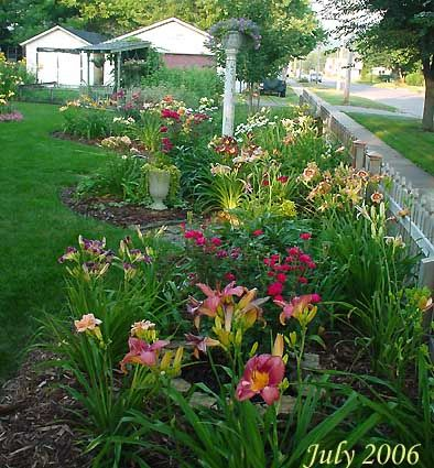 Day Lilly Varieties In A Well Thought Out Plan Daylily Garden Southern Garden Day Lilies