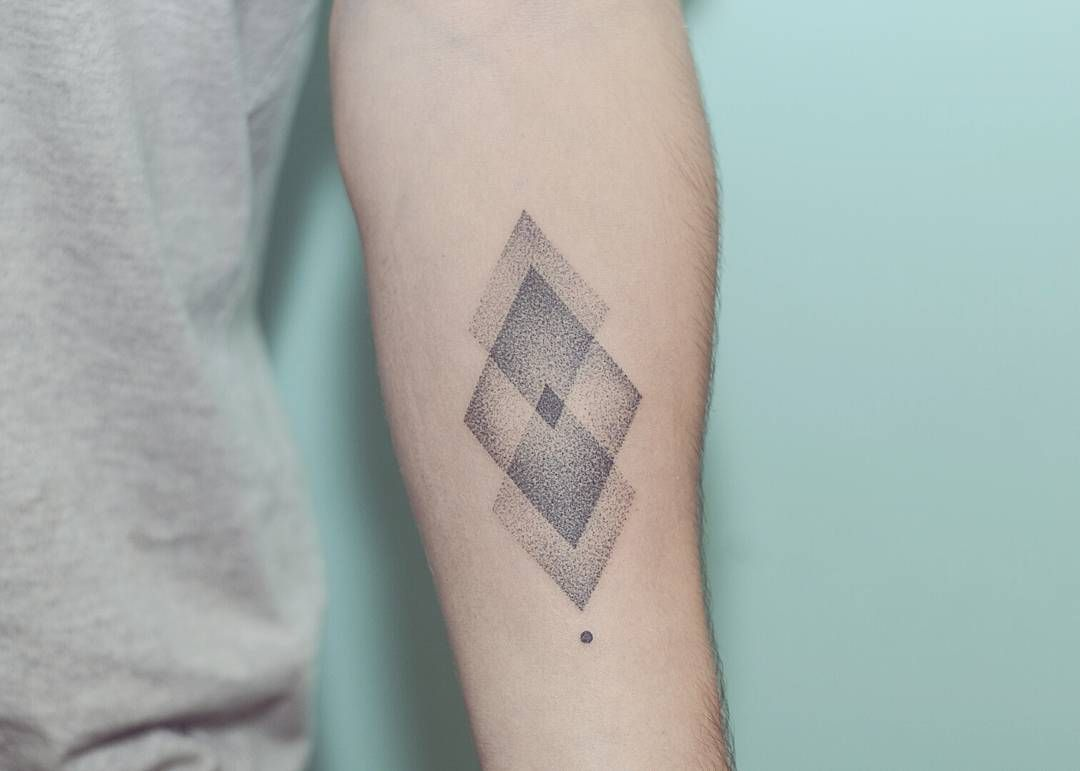 Geometric Diamond Shape Tattoo Designs   Novocom.top