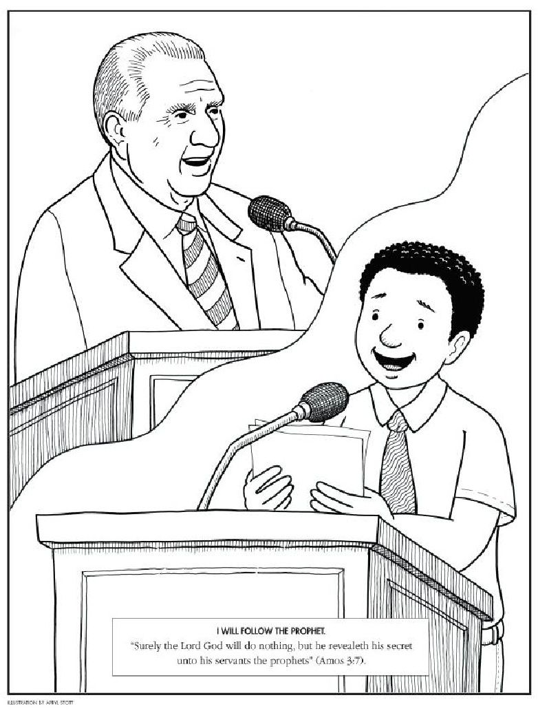 General Conference Activity Book | Scribd | Church | Pinterest | LDS ...