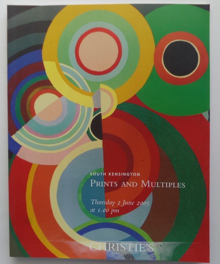 Prints and Multiples Christie's Auction Catalog 5831 June 2005 South Kensington