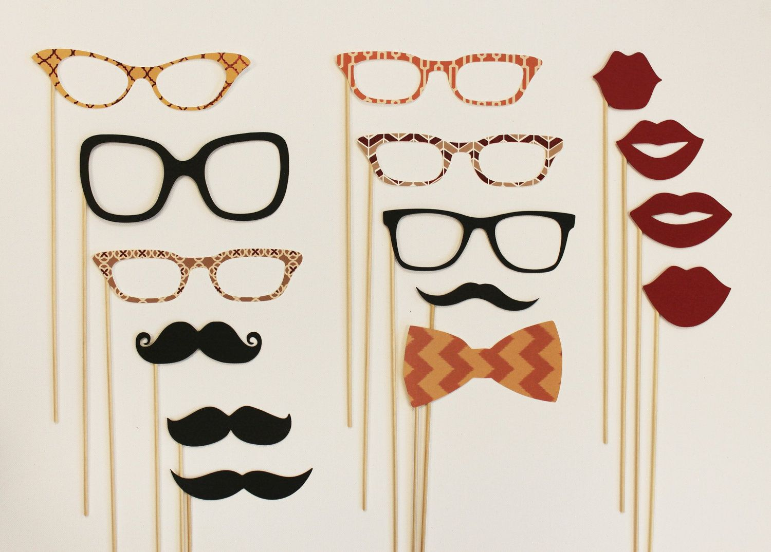 Mad Men Party on a Stick Kit - Photobooth Party Props. $45.50, via ...