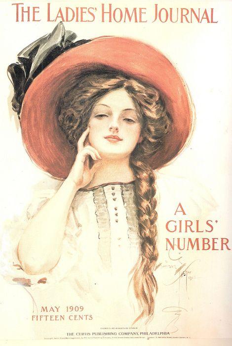 Pin By Emily Beck On Art Illustration Vintage Magazines Vintage Magazine Gibson Girl