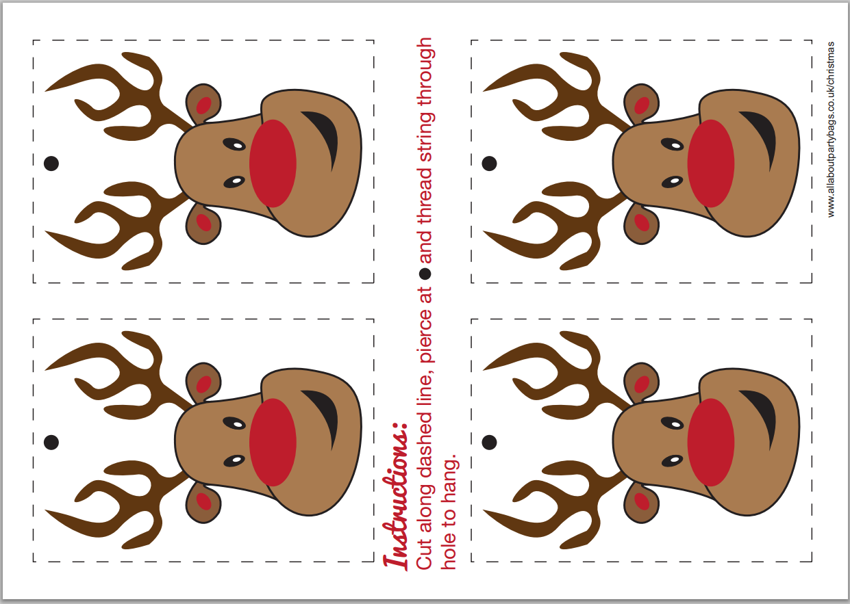Free Printable Christmas Decorations