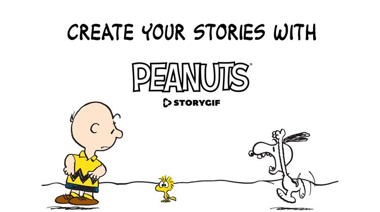 Zoobe Peanuts StoryGIF App Review Tech Peanuts Create