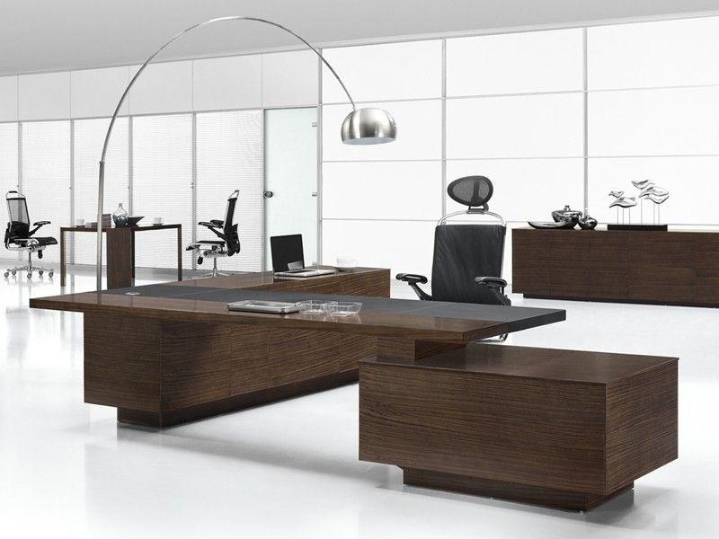 schreibtisch modern design, design büromöbel ancona zebrano, Design ideen