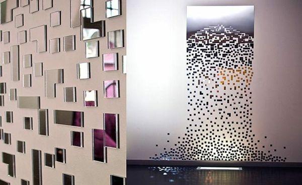 La décoration murale moderne pour les murs tristes | Art deco