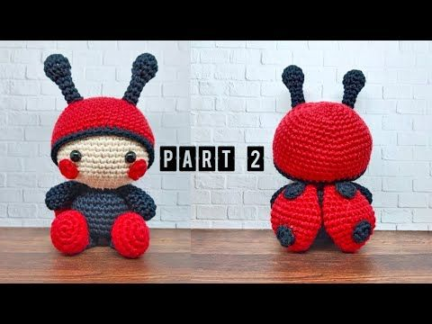 LADYBUG PART 2 | HOW TO CROCHET | AMIGURUMI TUTORIAL - YouTube