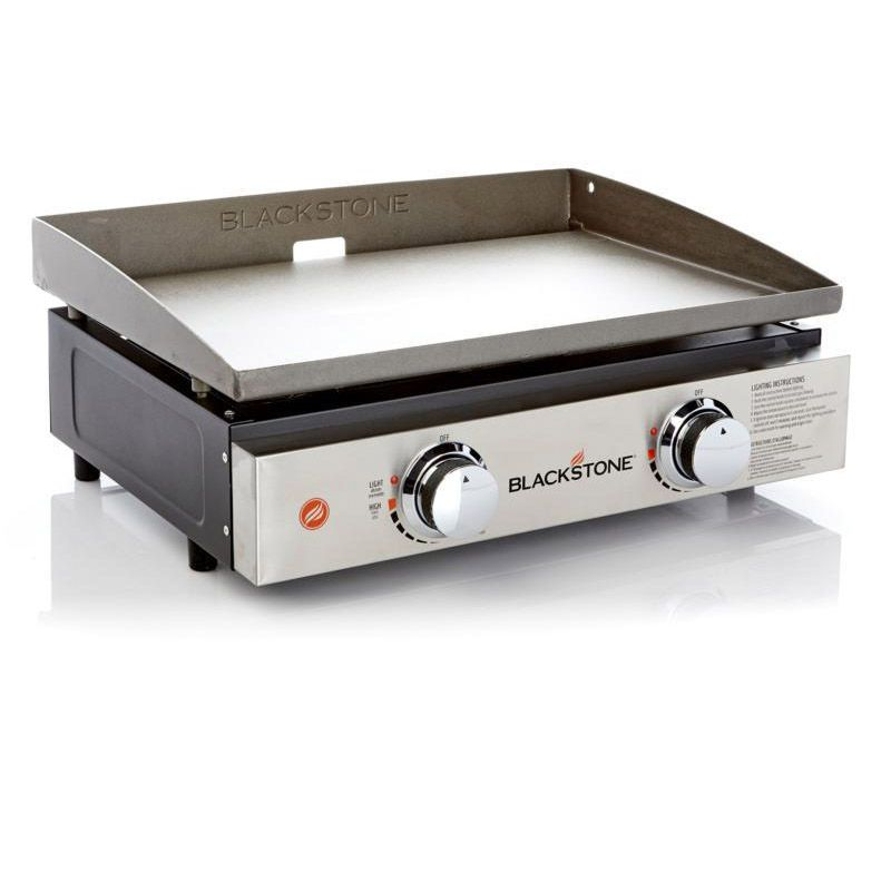22 Tabletop Griddle With Stainless Steel Front Plate Table Top Blackstone Griddles