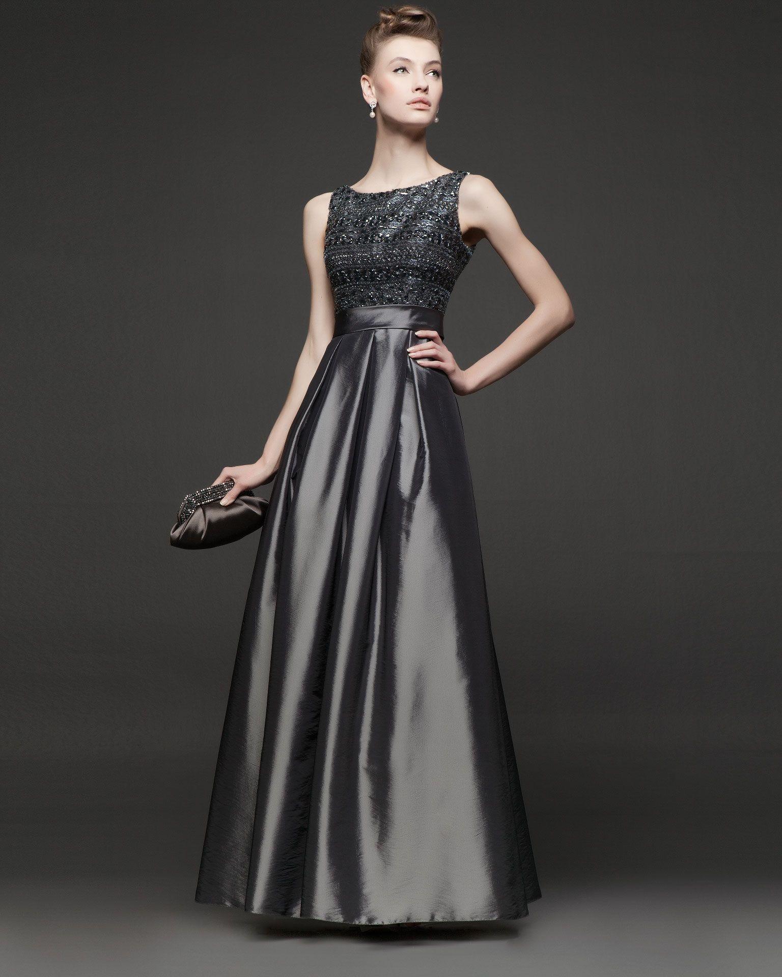 0184dd4868 vestido largo de fiesta | Vestidos Largos Estampados. in 2019 ...