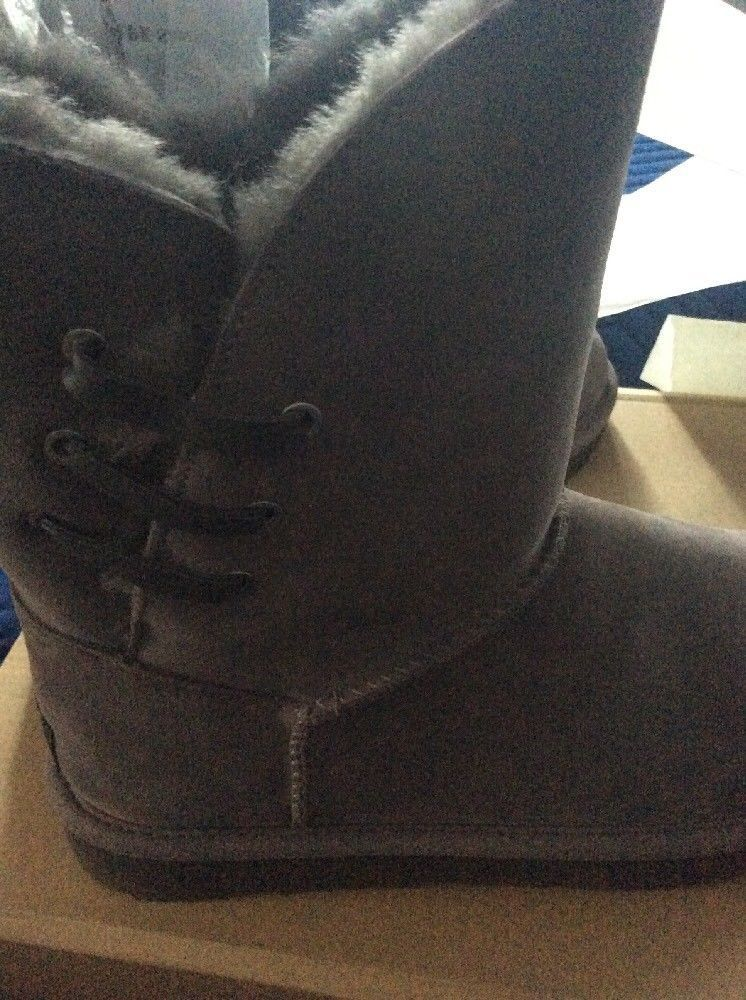 04177fc09b6 UGG 1018629 Women's Grey Constantine Classic Boot Size 9 New In Box ...