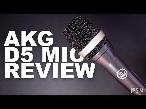 AKG D5 Vocal Dynamic Mic Review / Test - YouTube   AKG recording