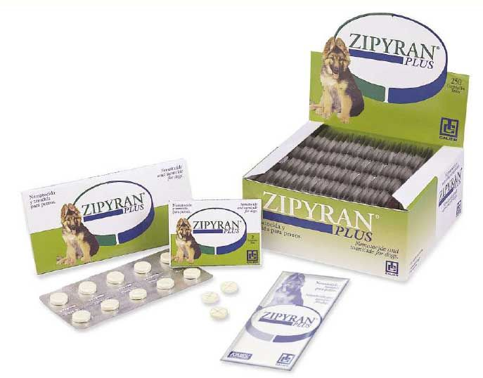 Zipyran plus Antiparasitarios Para Perros