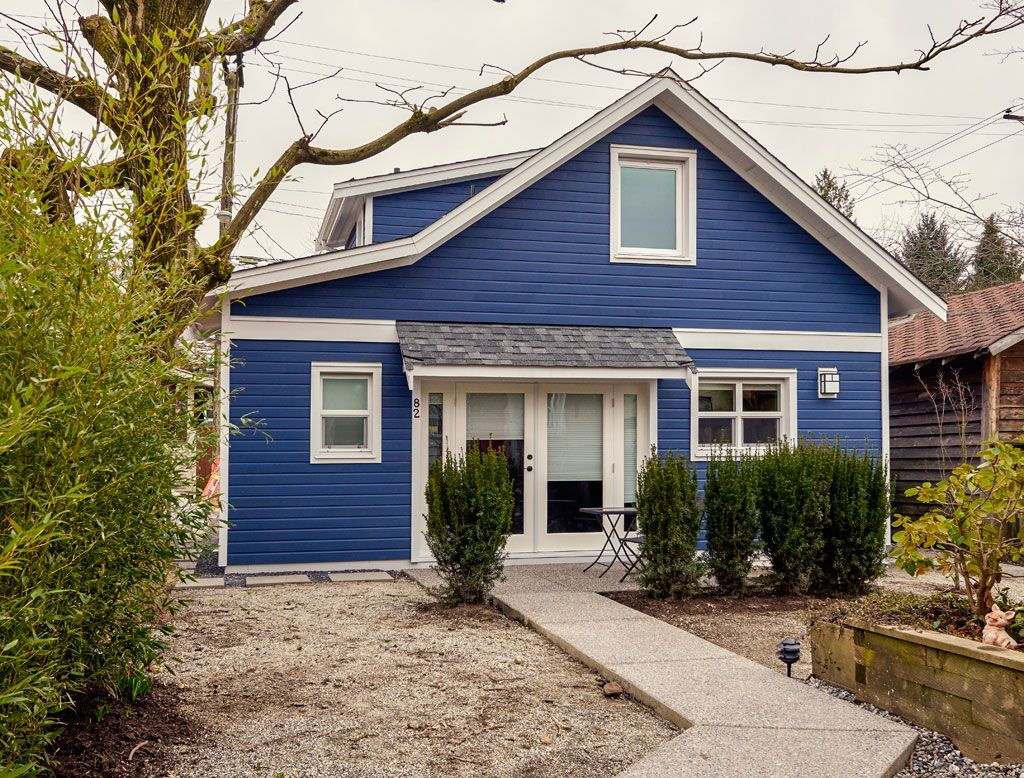 A 'True Blue' Vancouver Lane House Rental homes near me