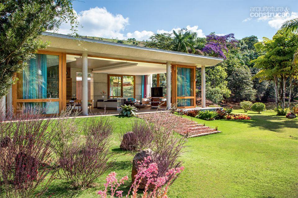 Fachada da casa de campo ideias para a casa pinterest for Fachadas de casas de campo