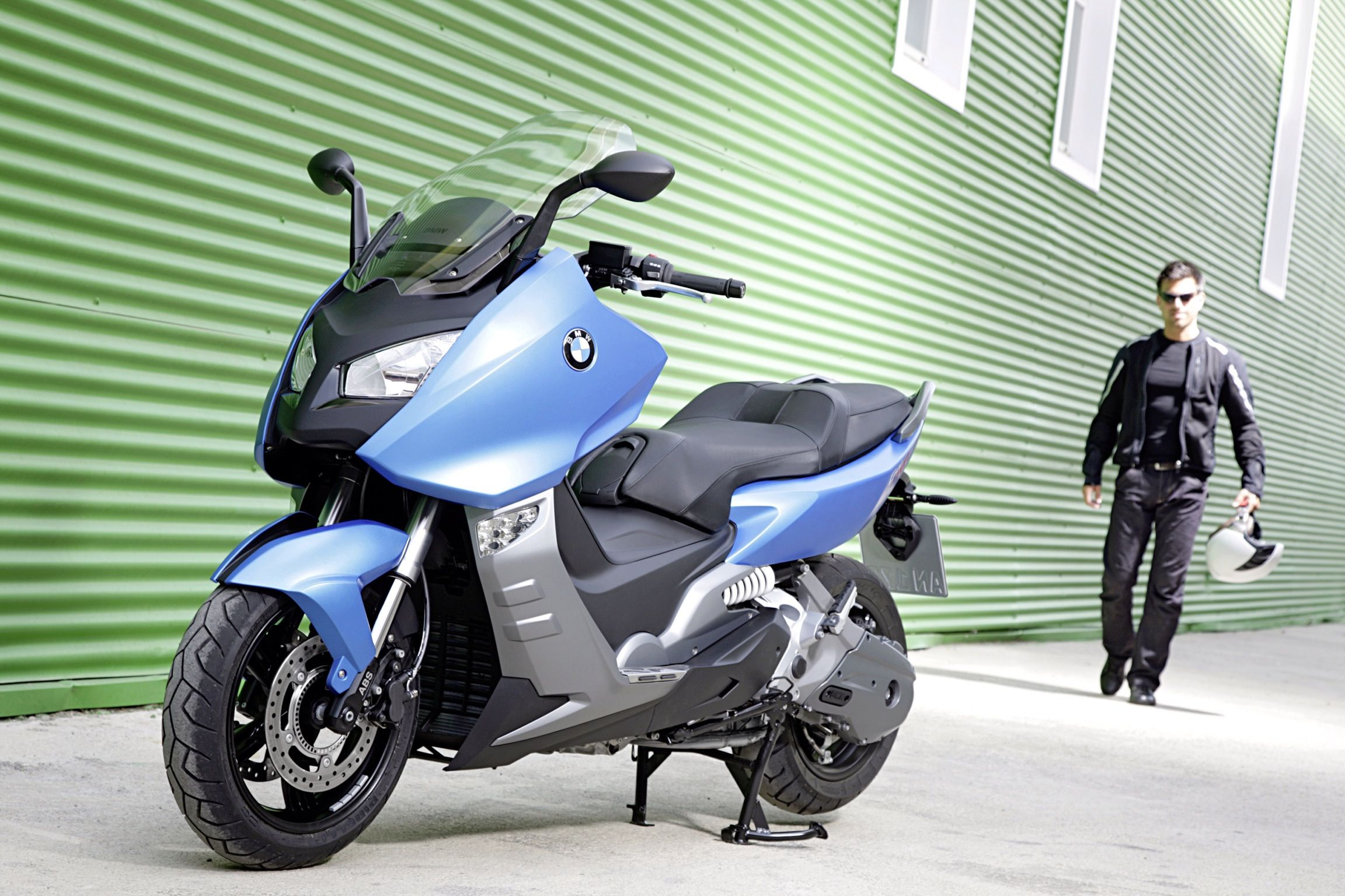 BMW new maxi scooter