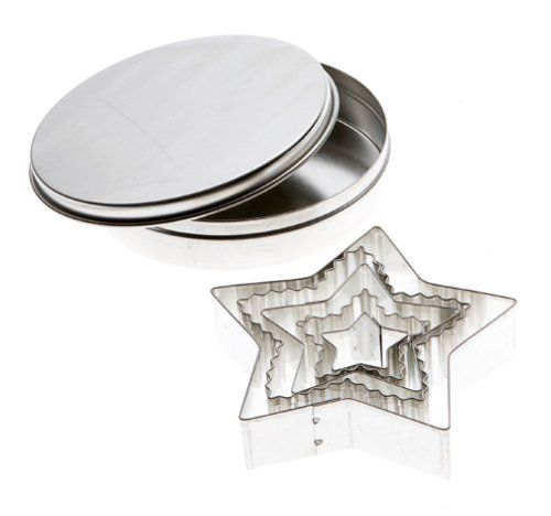 Mrs. Anderson's Baking Cookie Cutter Set, Star HIC Harold Import Co.