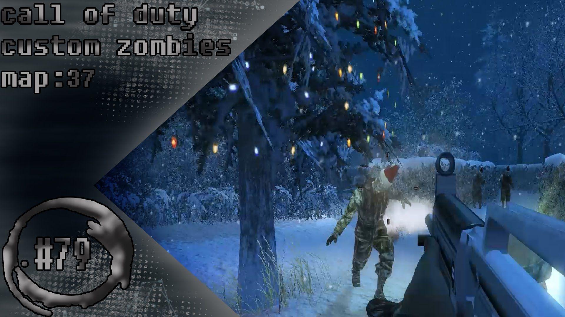 CALL OF DUTY CUSTOM ZOMBIES MAP 37 PART 1 ITS SANTA | call of duty ...