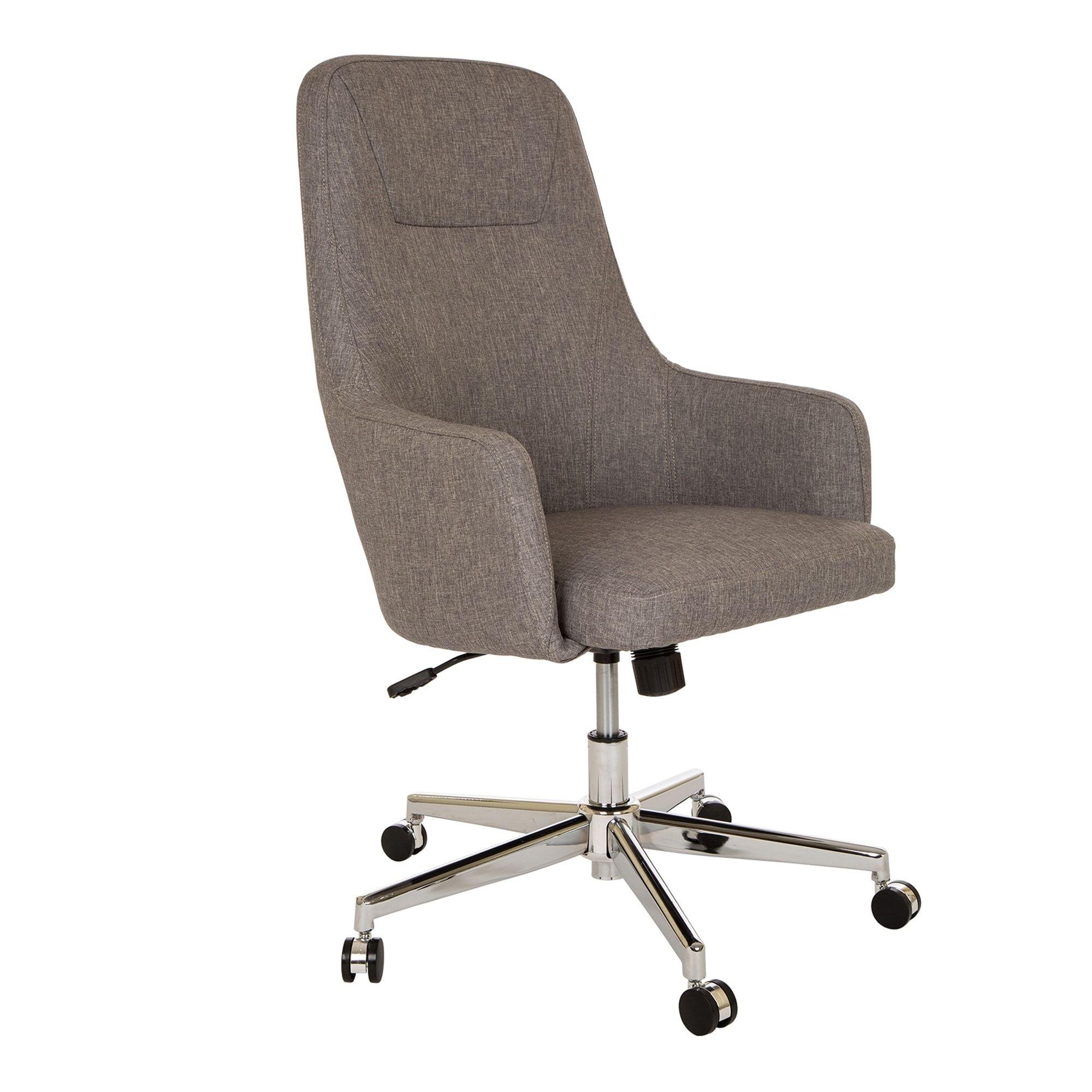 Vintage Pollock Desk Office Chair Knoll Mid Century Modern Leather
