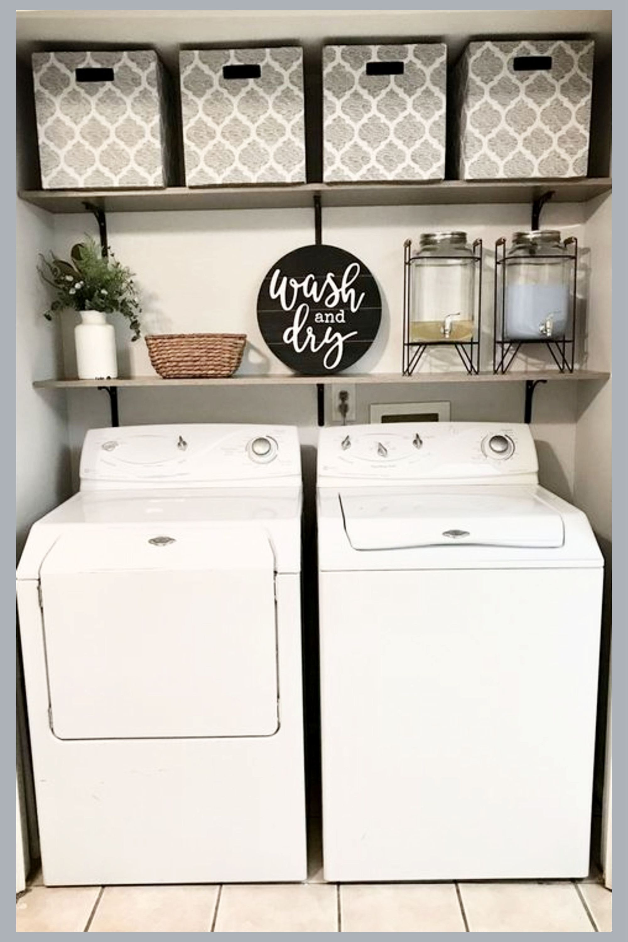 Small Laundry Room Ideas - Space Saving DIY Creative Ideas for Tiny Laundry Room... - #creative #DIY #ideas #laundry #Room #saving #small #space #Tiny
