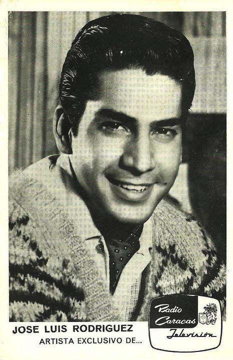 Jose Luis Rodriguez Actor Y Cantante Venezolano Cantantes