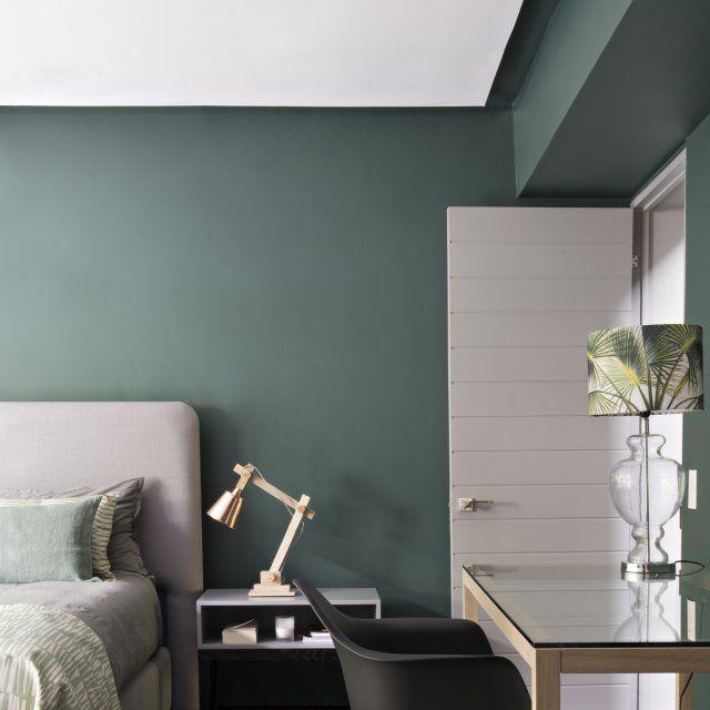 dites oui au vert dans la chambre couleurs apaisantes chambres vertes et logique. Black Bedroom Furniture Sets. Home Design Ideas