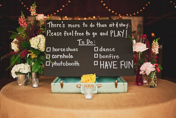This Was At My Friend Robyns Wedding And I Did All Of These Things Fun