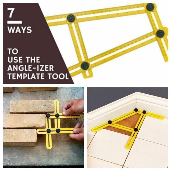 Angle Izer Multi Angle Ruler Template Tool General Tools Four Sided