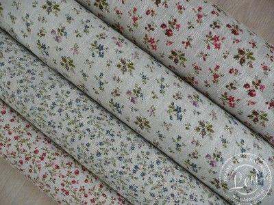 Len 100 Lniana Tkanina Dekoracyjna Kwiatki 6754676145 Oficjalne Archiwum Allegro Floral Tie Fabric Floral