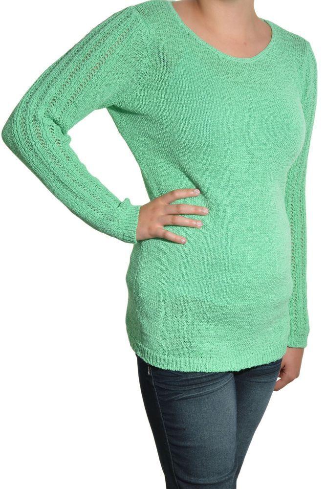 Rachel Zoe Weave Twist Knit Tunic Sweater Large Long Sleeve Scoop Neck Green NEW #RachelZoe #Tunic