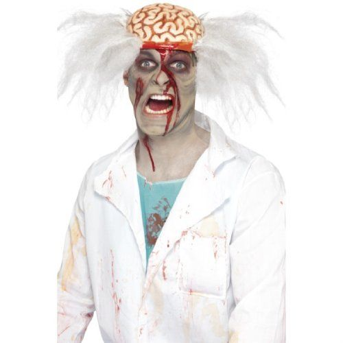 Mad Scientist Perruque Pour Homme Costume Halloween