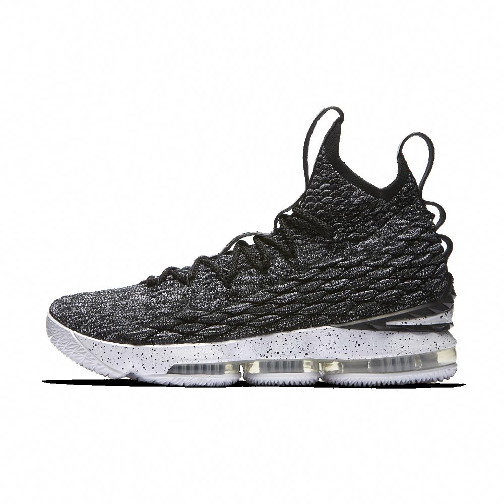 c03222f40a4 Nike LeBron 15 Basketball Shoe Size 7.5 (Black)  girlsbasketballshoes