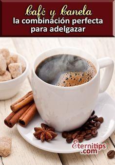 Cafe y canela para bajar de peso