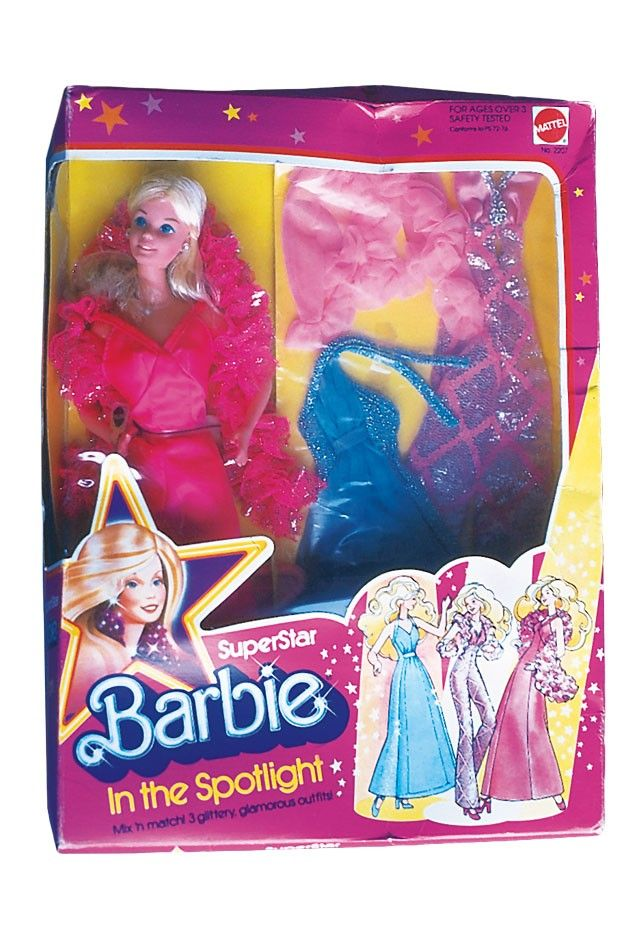 1977 SuperStar Barbie® Doll in the Spotlight #2207 | Barbie Collector, Release Date: 1/1/1977 Product Code: 2207, $_