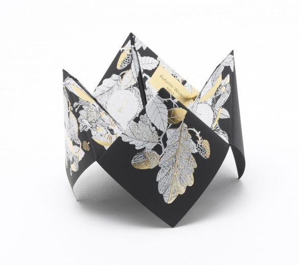Mulberry Origami Invite, London Fashion Week - Let's talk on this one♥ I have ideas . . . . ♥