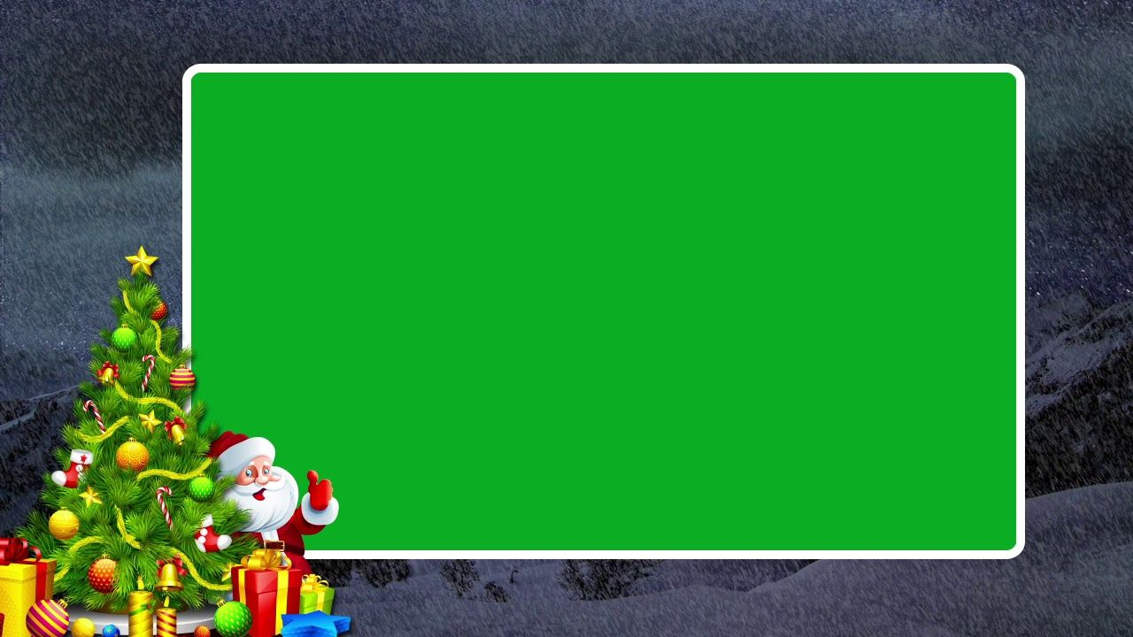Green Screen Christmas Frame Free Christmas Animation Video Effects K Christmas Frames Free Christmas Frames Free Christmas