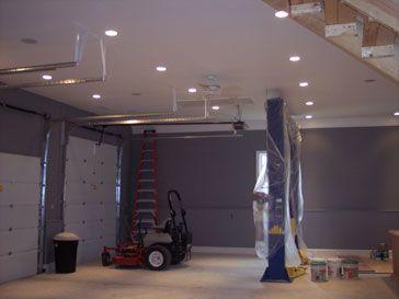 Recessed Lighting Garage Garage Lighting House Plans Farmhouse Sectional Garage Doors