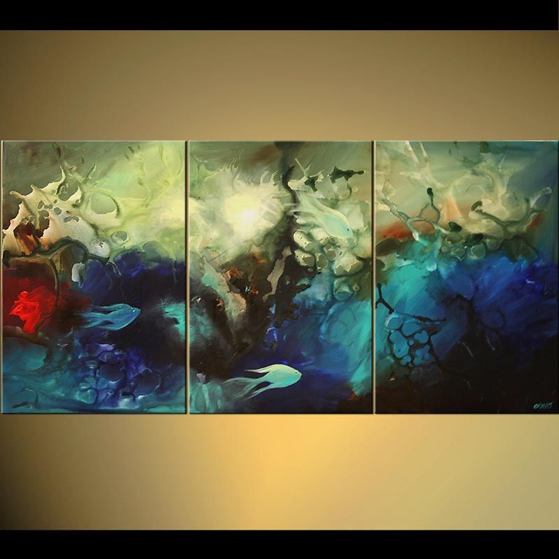 Abstract Art Osnat Tzadok Artist Seascape Paintings Painting