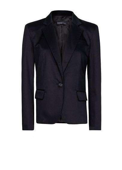 75d7d47fec37d Tailored blazer - Woman   Vogue   Pinterest   Veste, Mango veste and ...